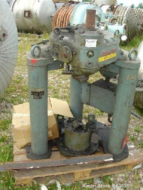 "Used- Pfaudler Glass Lined Reactor, Type E12000. Working capacity 3175 gallon (12,000 liter). 7'8"" diameter x 13' straight s..."