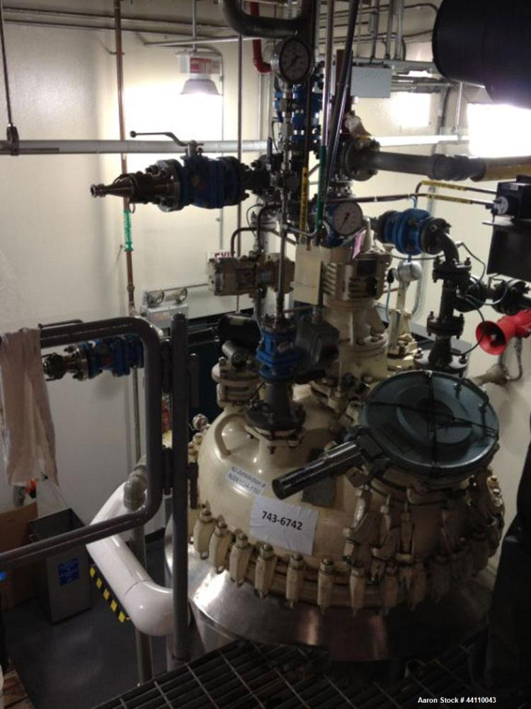 Used- 150 Gallon Pfaudler Glass Lined Reactor