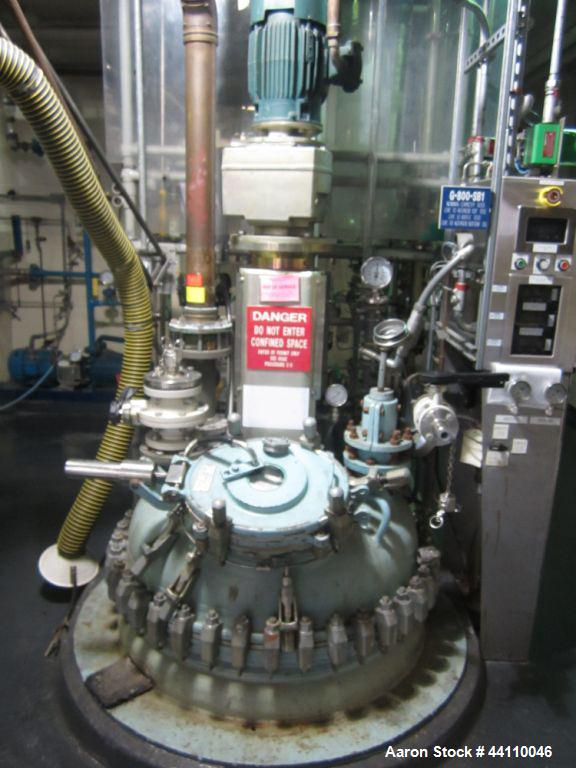Used- 200 Gallon Glass Lined Pfaudler Reactor