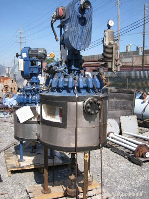 Used- 30 Gallon Pfaudler Glass Lined Reactor