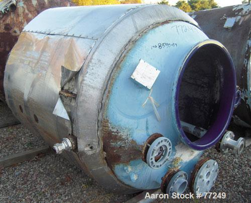 Used- 750 Gallon Pfaudler Glass Lined Reactor