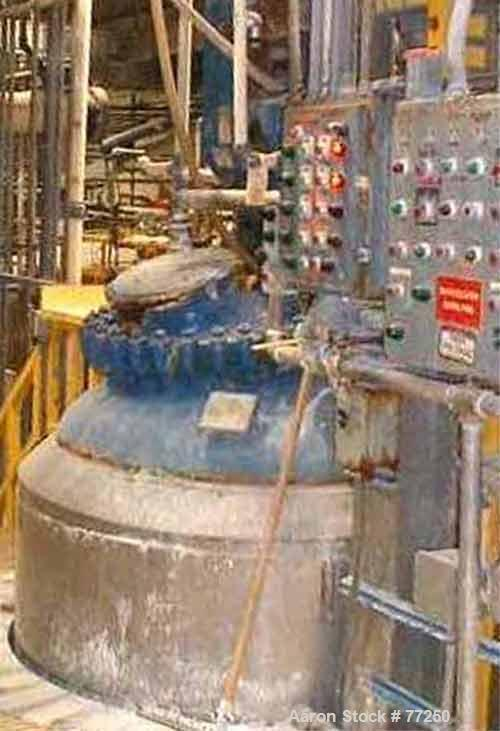Used- 750 Gallon Pfaudler Glass Lined Reactor Body