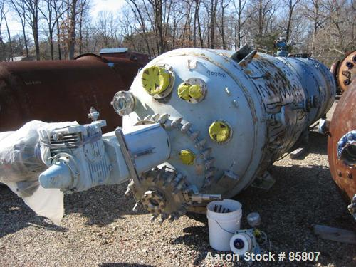 Used- 1000 Gallon Pfaudler Glass Lined Reactor