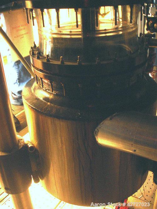 Used- 100 Liter R & M Italia Glass Reactor Train