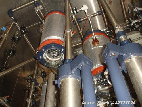 Used- 70 Liter R & M Italia Glass Reactor Train