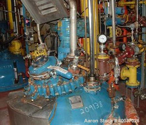 Used- Pfaudler 500 gallon glass lined reactor,RA48 Series. Serial Number R184-0045, National Board number 42693, Rated 100/F...