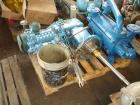 Used- Dedietrich Glass Lined Reactor, 5000 gallon, 3009 blue glass. Approximately 108