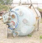 USED: Dedietrich glass lined reactor, model SA-750, 750 gallon, type 2222N glass, vertical. 61