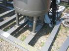 Unused- De Dietrich clamp top glass lined reactor, 50 gallon, 3009 glass, vertical. Internal rated 150 psi/fv at 500 deg F, ...