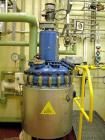 Used-Pfaudler Balfour AE250 Reactor. Glass lined, carbon steel jacketed, 66 gallon (250 liter).