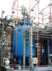 Used- Pfaudler Glass Lined Reactor, 3303 Gallon (12,500 liter), Type CE, 9115 Glass, Vertical. Welded dish top and bottom. I...