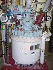 USED: Pfaudler 50 gallon glass lined reactor. Internal rated 150 psifull vacuum at 450 deg F, jacket rated 135 psi. 24