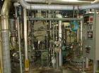 USED: Pfaudler 50 gallon glass lined reactor. Internal rated 150 psifull vacuum at 650 deg F, jacket rated 105 psi, 100 psi/...