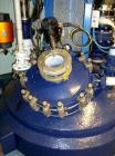 Used- Pfaudler Glass Lined Reactor, 422 Gallon (1,600 liter), White Glass, Vertical. Welded dished top and bottom. Internal ...