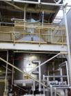 Used- Pfaudler Glass Lined Reactor, 4000 Gallon, 9129 White Glass With Calibration Lines, Vertical. Approximately 96
