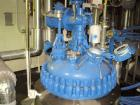 Used- Pfaudler Glass Lined Reactor, 100 gallon, model E32-100-100-150. 32