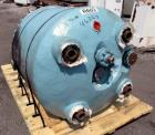 Used- Pfaudler Glass Lined Reactor, 200 Gallon, 5015 Glass. Internal rated 25 psi & Full Vacuum at 450 degrees F. Jacket rat...