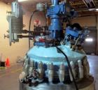 Used- Pfaudler Glass Lined Reactor, 50 Gallon, 5019 Glass. Internal rated 100 psi & Full Vacuum at 450 degrees F. Jacket rat...