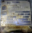 Used- 20 Gallon Pfaudler Clamp Top Glass Lined Reactor