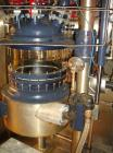 Used- 70 Liter R & M Italia Glass Reactor Train