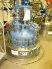 Used- Tycon Glass Lined Reactor, 100 Gallon, Type 808 Glass. Internal rated 150 psi and full vacuum at 450 degrees F, jacket...