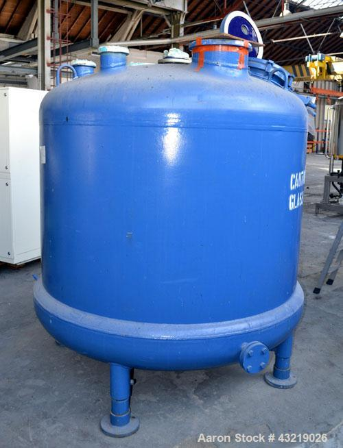 Used- 2834 Liter Tycon Glass Lined Reactor