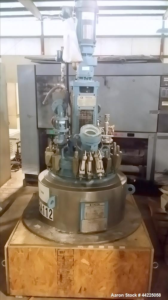 Used- 30 Gallon Tycon Glass Lined Reactor