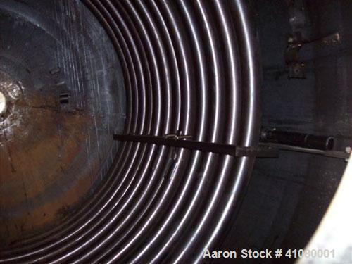 Used-Reactor. Brighton Corporation.3000 Gallon. 316 Stainless Steel. Vertical.Dished Heads.  Design Internal FV / 50 PSI @ 6...