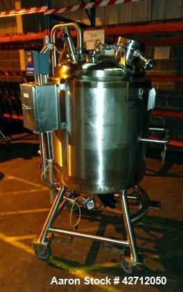 Used- 300 Liter Stainless Steel BCD Engineering Reactor