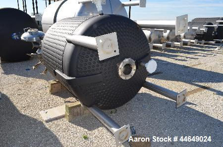 """Unused- Holloway America Reactor, 600 Gallon, 316L Stainless Steel, Vertical. Approximately 54"""" diameter x 54"""" straight side..."""