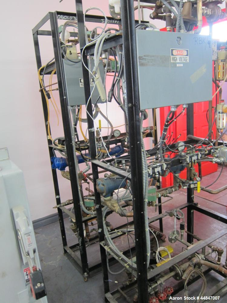 Used- Fermenter Rack & Valve System.