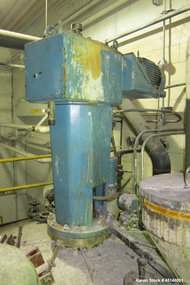 Used- 10,000 Gallon Stainless Steel Imperial Steel Tank Co Reactor