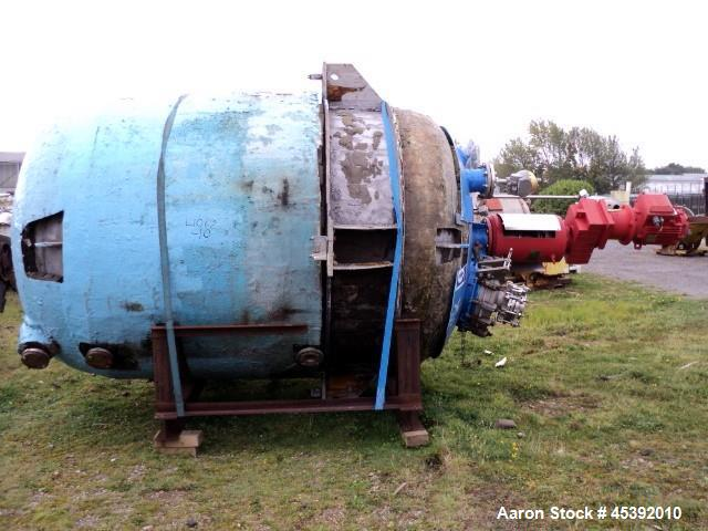 Used- 9,470 Litre Stainless Steel Golden Vale Reactor
