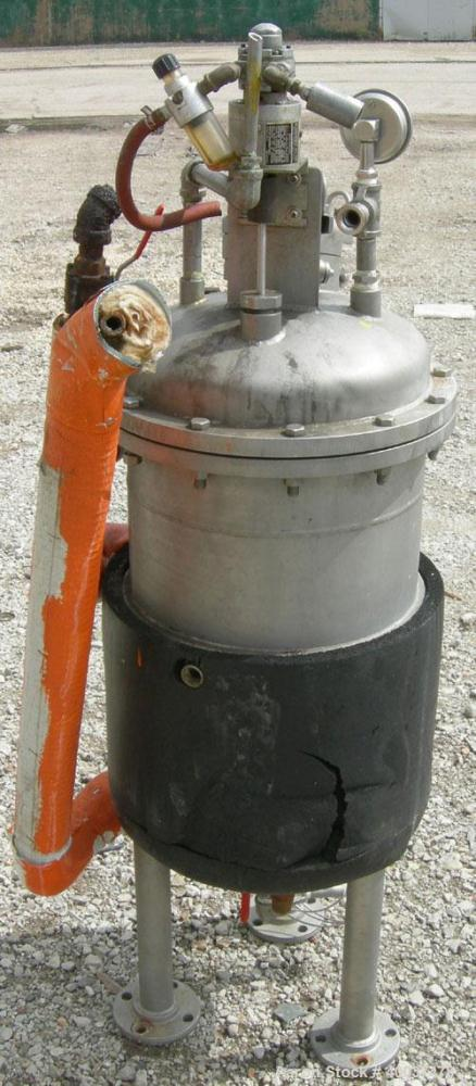 "Used: Acme Industrial reactor, 12 gallon, stainless steel. Approximately 14"" diameter x 20"" straight side, dished bolt on to..."