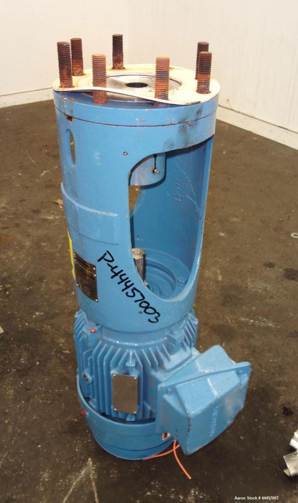 """Used- Allegheny Bradford Fermenter, 150 Liter (39.63 Gallon), 316L Stainless Steel, Vertical.  16"""" Diameter x 37"""" straight s..."""