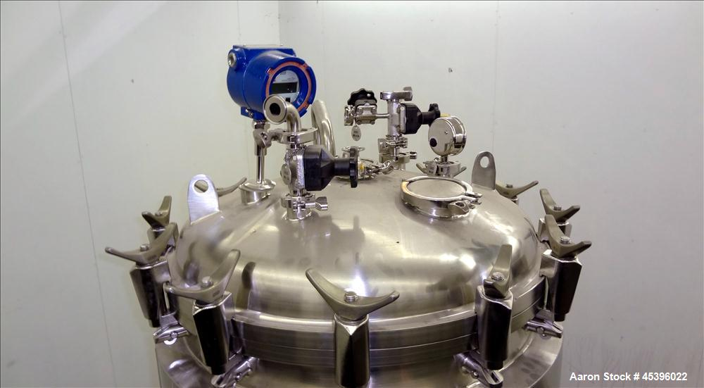 Used- 500 Liter Stainless Steel Allegheny Bradford Reactor