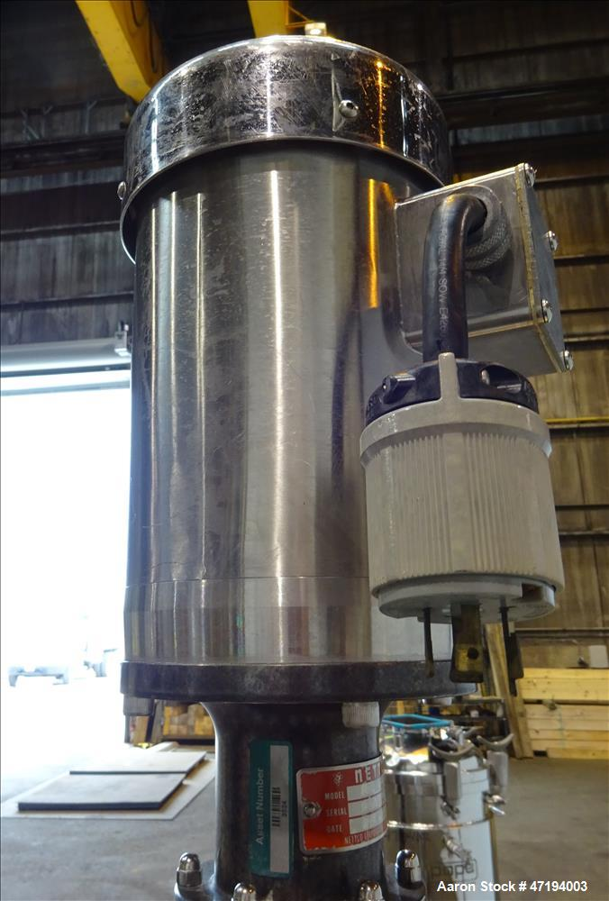 Used- Alloy Products Reactor, 40 Gallon, 316L Stainless Steel, Vertical.