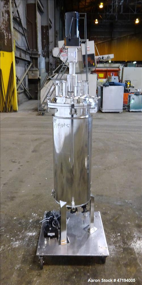 Used- Alloy Products Reactor, 16.4 Gallon (62 Liter), 316L Stainless Steel, Vert