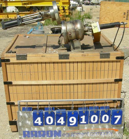 Used- 1 Gallon Stainless Steel Autoclave Engineers Stirred Reactor