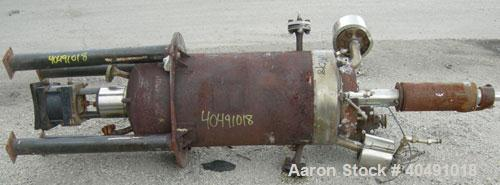 """Used- Autoclave Engineers reactor, 25 gallon, 316 stainless steel, vertical. Approximately 16"""" diameter x 30"""" straight side...."""