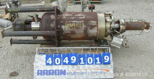 "Used- Autoclave Engineers reactor, 25 gallon, 316 stainless steel, vertical. Approximately 16"" diameter x 30"" straight side...."