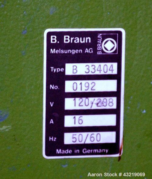 Used- 75 Liter Stainless Steel B Braun Bio-Tech Reactor System