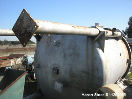 Used- 3000 Gallon Stainless Steel Blaw Knox Reactor