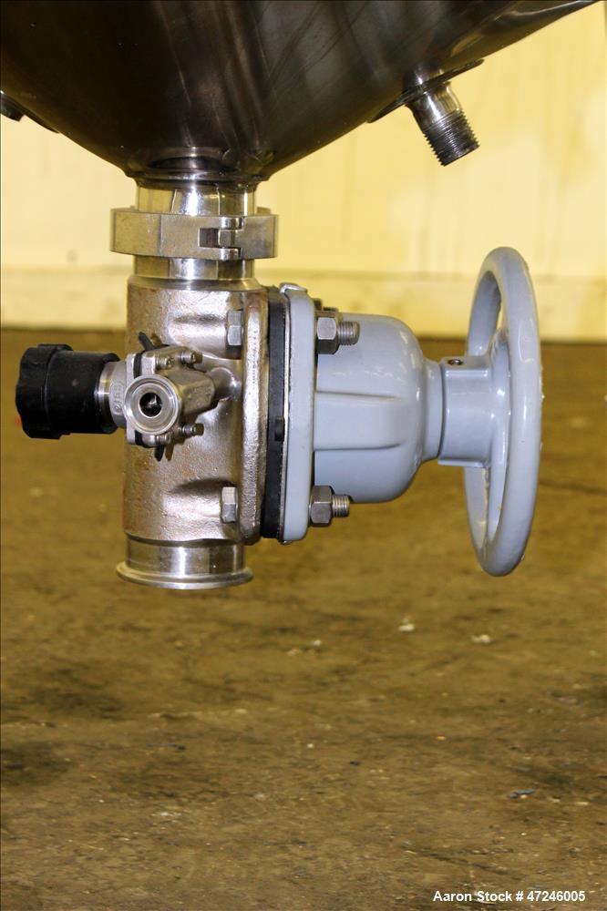 Used- Bulling Metal Works Reactor, 100 Liter (26.4 Gallon), 316 Stainless Steel,