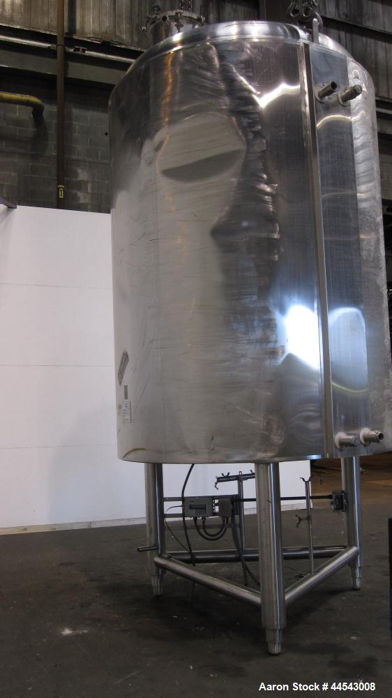Used- 2500 Gallon Stainless Steel Cherry Burrell Reactor