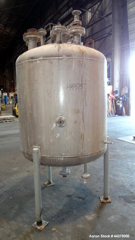 Used- 360 Gallon Stainless Steel Chicago Boiler Company Reactor