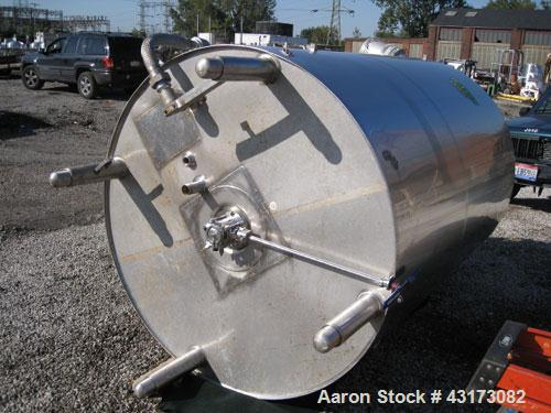 "Used- DCI Reactor, 3000 Liter (792 Gallon), 316L Stainless Steel Construction. 56"" Diameter x 74"" straight side, dish top an..."