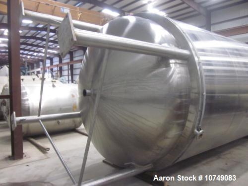 Used- DCI Inc., 6500 Gallon 316L Stainless Steel Polished Reactor.