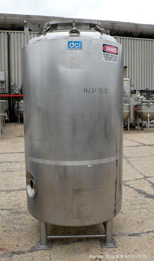 Used- 414 Gallon Stainless Steel DCI Reactor