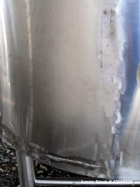 Used- DCI reactor, 2,500 liters (650 gallons) 316L stainless steel construction. Internal rated +42/-15 psi at 290 degrees F...